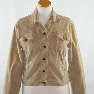 Levi's Women Corduroy Brown Jacket S